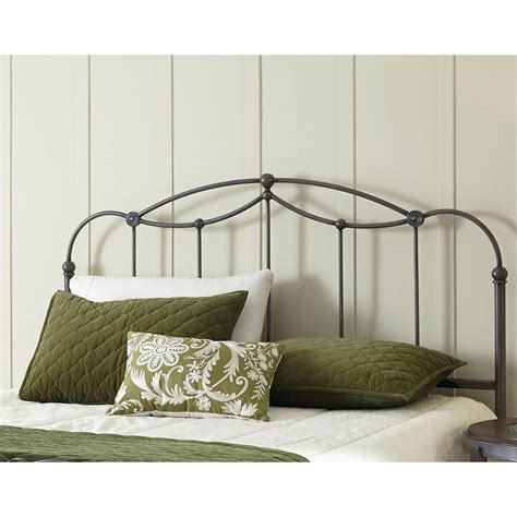 fashion bed group affinity queen size metal headboard