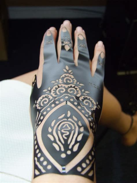 colora mehndi henna temporary tattoo kit with stencils henna stencils henna step by step stencils henna