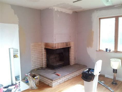 Remove Fireplace by How To Remove A Chimney Or Fireplace Yourself