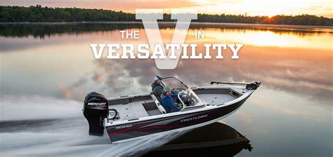 crestliner deep v boats crestliner deep v versaility across north america