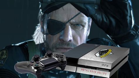 ps4 themes metal gear solid metal gear solid v themed limited edition playstation 4