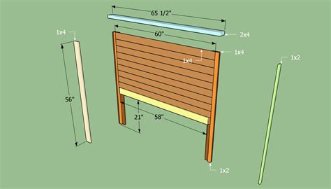 How To Build A Headboard For A Bed Howtospecialist How