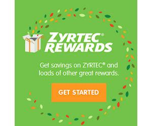 Zyrtec Sweepstakes - 10 free zyrtec rewards points free gift cards mags more free product sles