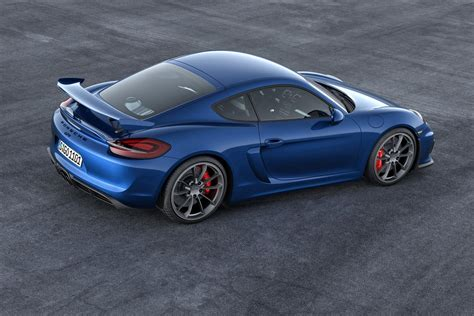 cayman porsche gt4 geneva 2015 porsche cayman gt4 revealed ahead of