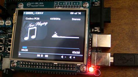 Wav Player Wp3a Tanpa Microsd stm32 cortex m3 microsd card touchscreen audio player with spectrum display