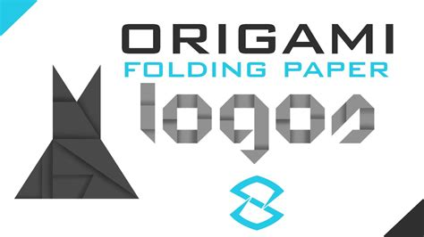 Origami Logo Tutorial - photoshop tutorial creating folding origami logos