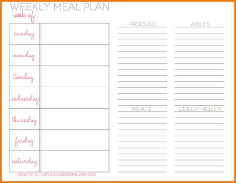 dinner menu planner template search results for meal plan calendar calendar 2015
