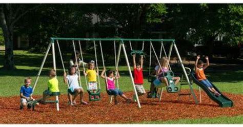 flexible flyer fantastic playground metal swing set flexible flyer fantastic playground metal swing set 28