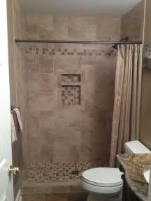 lowes bathroom tile ideas olcese mesa beige rust bathroom by lowes