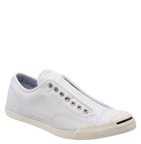 purcell slip on sneaker converse purcell lp slip on sneaker in white for
