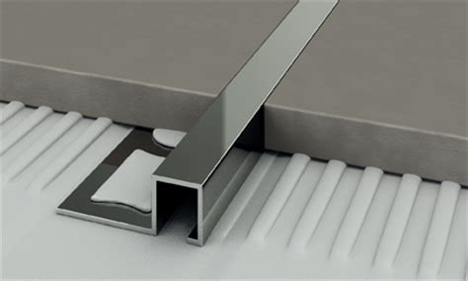 profili piastrelle bagno vendita metalli profili alluminio acciaio inox bastoni