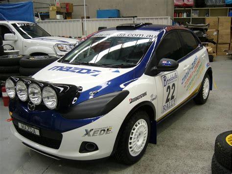 mazda 3 rally car rally ready mazda2