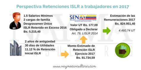 impuestos parafiscales 2016 en venezuela decreto 2680 retenciones de islr a los trabajadores en