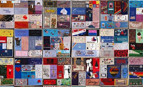 Aids Memorial Quilt by Aids Memorial Quilt To Be Displayed At Sbu December 1 To 3