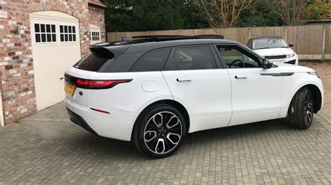 mercedes land rover white land rover range rover velar s overfinch carbon fibre for