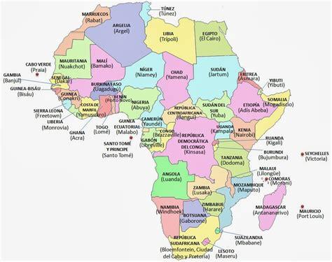 mapa dafrica politic mapa politico de africa