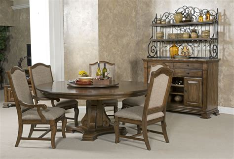 rich dining room portolone stellia 72 quot pedestal dining set in
