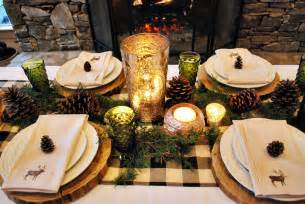 Valentine Brunch Decorating Ideas Rustic Mountain Tablescape B Lovely Events