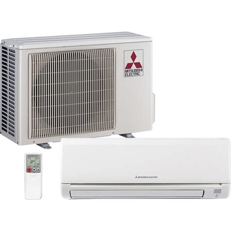mitsubishi mini split mitsubishi 12 000 btu ductless mini split heat sylvane