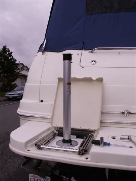 boat grill mount swim platform on board grilling setup questions page 1 iboats boating