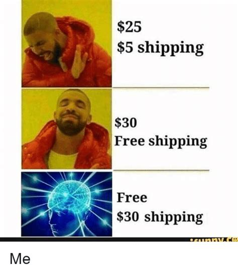free delivery 30 25 best memes about free shipping free shipping memes