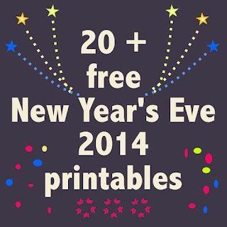 2013 new year s predictions printable on lilluna 20 free new year s printables kostenlose silvester