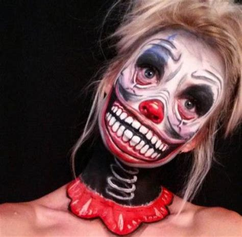 Best 25 Clown Scary Ideas by 25 Best Ideas About Scary Clown Makeup On