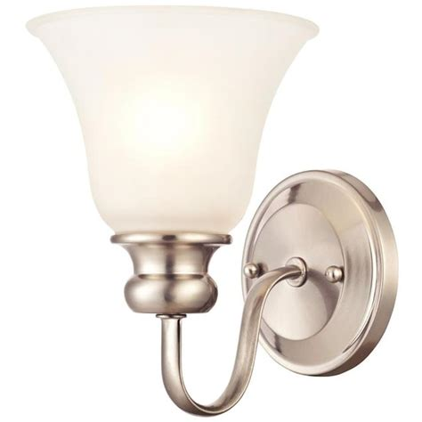 Standard Light Fixture Westinghouse 62267 1 Light Medium Base 6 5 Quot Fontane Brushed Nickel Finish With Frosted