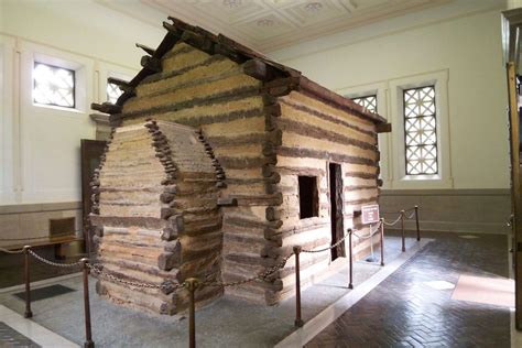Born In A Log Cabin by Lincoln Birthplace Marks Centennial As National Park