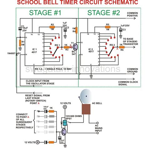 4060 timer circuit diagram circuit and schematics diagram