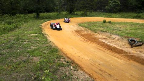 backyard cing back yard short high banked go kart racing youtube