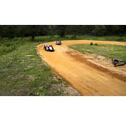 Back Yard Short High Banked Go Kart Racing  YouTube