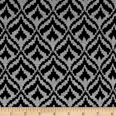 peacock knit fabric telio dakota stretch rayon jersey knit peacock print black