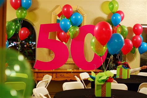 50th Birthday Decorations For by Ideas To Celebrate S Birthday Home Decoration Club