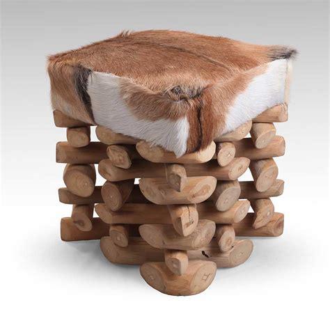 möbel aus recyclingholz hocker ziegenfell bestseller shop f 252 r m 246 bel und