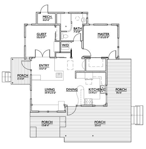 Small House Plans Less Than 800 Sq Ft House Plan 890 1 By Nir Pearlson 800 Sf Plans