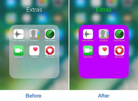 iphone screen changing colors customize the colors of your home screen folders with