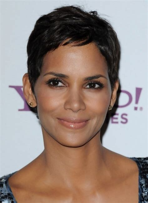 halle berry haircut 2014 halle berry short black hairstyle for women simple easy