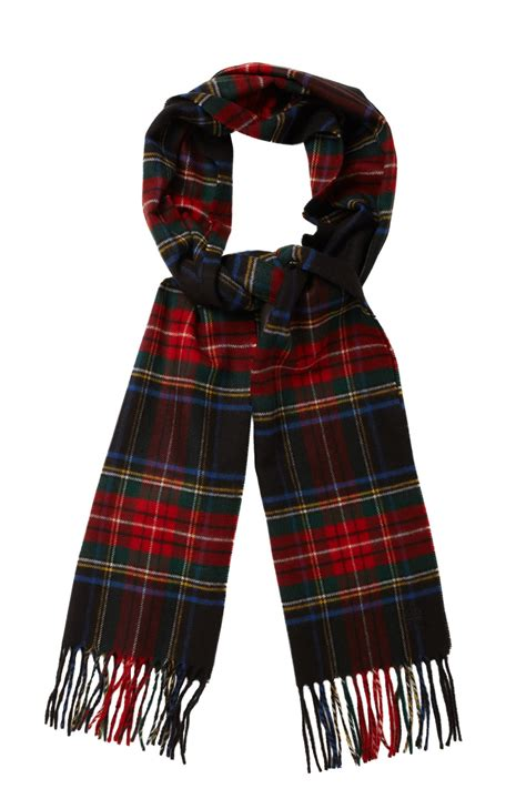 power wheel tartan scarf s accessories
