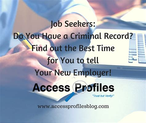 How To Find Out If You A Criminal Record Access Profiles Inc Seekers Do You A Criminal Record Find Out The Best