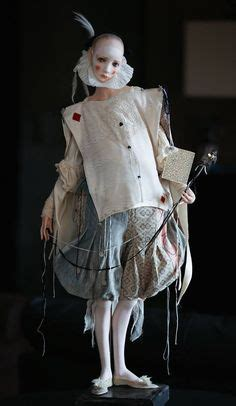 art doll by alisa filippova ghost of present costume actor eric manning