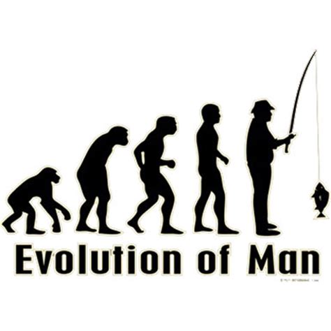 T Shirt Evolution Fishing evolution of fishing t shirt