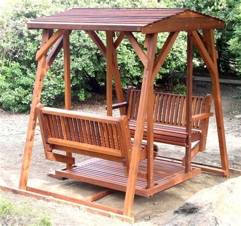 covered swing bench covered face to face bench swing garden and outdoor