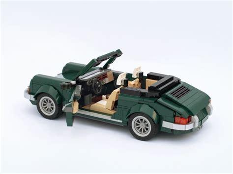 lego mini cooper porsche une porsche 911 cabriolet en lego via le kit de la mini