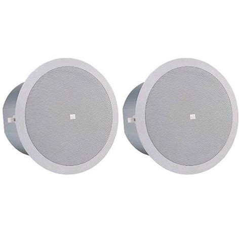 jbl 26c 6 5 inch two way vented ceiling speaker
