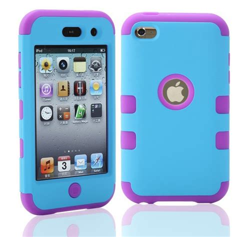 Ipod Touch 4 Touch4 4th 4g Cover Shockproof Combo Robot 3 In 1 for ipod touch 4 touch4 4th 4g hybrid shockproof combo robot 3 in 1 pc rubber protective