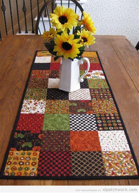 patchwork caminos de mesa caminos de mesa de patchwork f 225 ciles para oto 241 o el patchwork