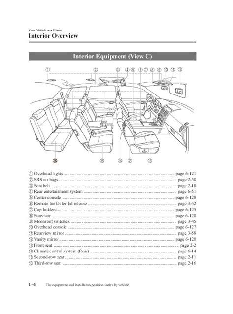 manual repair autos 2008 mazda cx 9 windshield wipe control 2008 mazda cx 9 owners manual