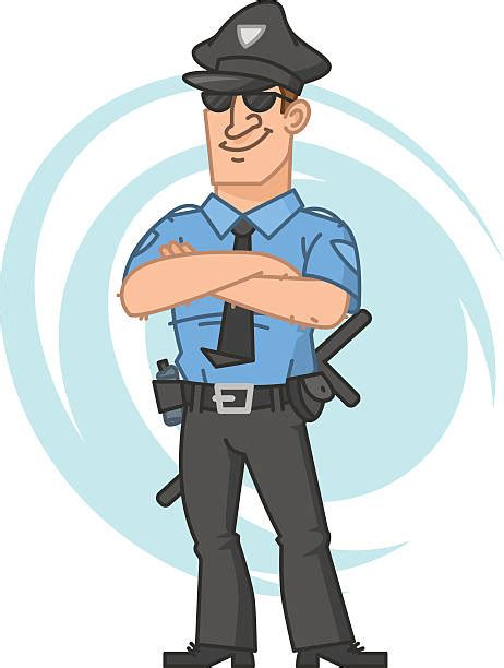 cop clipart security guard pencil and in color cop