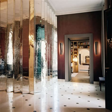 Decoration Mirrors Home by 10 Rooms With A Mirrored Wall